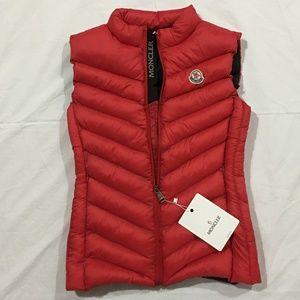 Moncler Women Red Vest